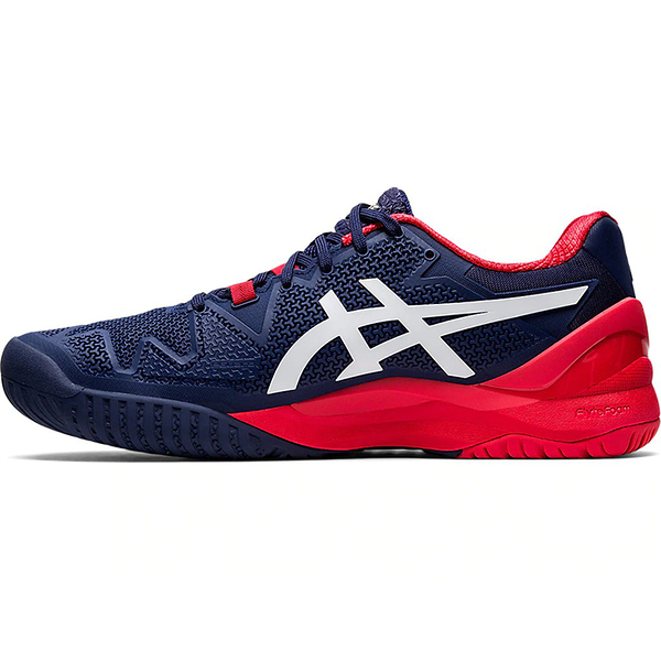 ASICS 20SSO 高階 男網球鞋 GEL-RESOLUTION™ 8 1041A079-400 贈運動襪【樂買網】