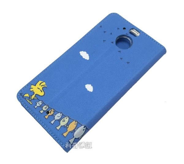 SNOOPY 彩繪皮套 [晒魚] HTC 10 evo (5.5吋) 史努比【正版授權】