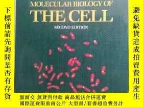 二手書博民逛書店Molecular罕見Biology of the CELL(S