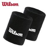 Wilson威爾勝運動護腕夏棉吸汗毛巾加長健身籃球跑步男女擦汗手腕