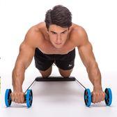 健腹輪腹肌輪鍛煉練健身器材家用多功能減肚子瘦腰腹部運動馬甲線