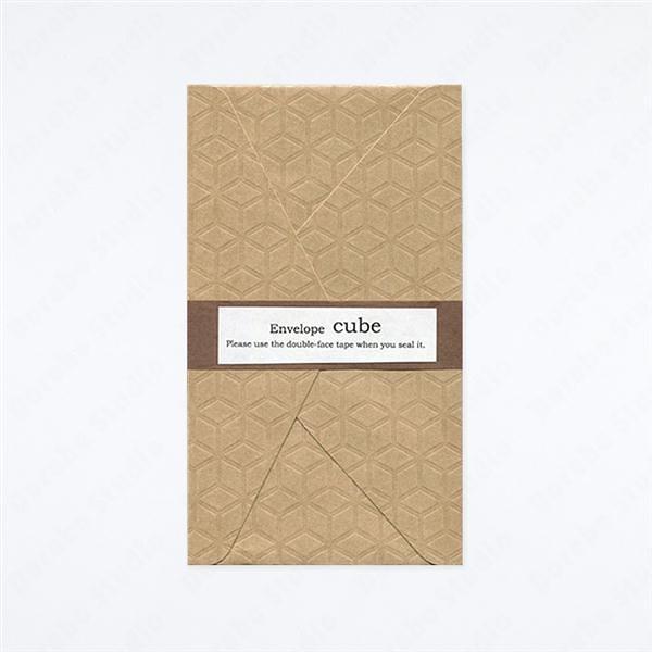 ENVELOPE cube 立體紋樣信封【Yamamoto Paper】