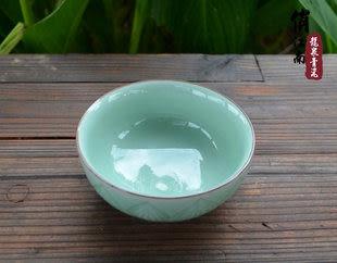 龍泉青瓷碗 可微波