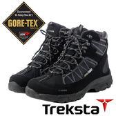【Treksta 韓國】Cape Lace Mid II 男GTX 防水中筒健行鞋『黑咖啡』KR17HM多功能鞋.休閒鞋Gore-Tex