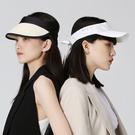 【ISW】滿印蝴蝶結空頂帽- 白 (兩色可選) 網球帽