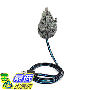 [7美國直購] 充電線 Star Wars Millennium Falcon Micro-USB Charging Cable