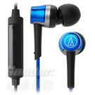 【曜德 / 新上市】鐵三角 ATH-CKR30iS 藍 輕量耳道式耳機 智慧型專用線控 ★免運★送收納盒★