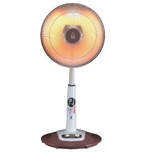 【艾來家電】【刷卡分期零利率+免運費】鄉村14吋碳素燈電暖器 S-3480T ~碳素 不耗氧~