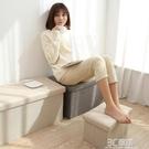 長方形儲物收納凳家用可坐沙發凳子可摺疊換鞋凳穿鞋凳收納箱神器WD 3C優購