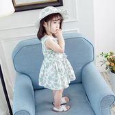 洋裝 童裝女童連衣裙2019新款夏裝兒童棉質小女孩公主裙女寶寶裙子洋氣