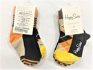 Happy Socks 2入紫粉綠點點短襪(HQ1ZAR2)-09M、9A