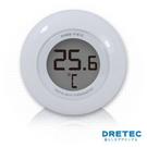 【日本DRETEC】 電子水溫計-白