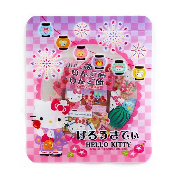 日本KITTY貼紙行事曆貼裝飾貼燈籠204412通販屋