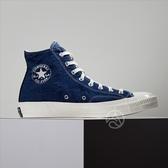 Converse Chuck Taylor All Star ''70 黑藍 牛仔布拼接 三星標 休閒鞋 166286C