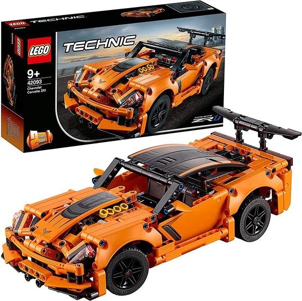LEGO 樂高 技術雪佛蘭克爾維特ZR1 42093 (579件)