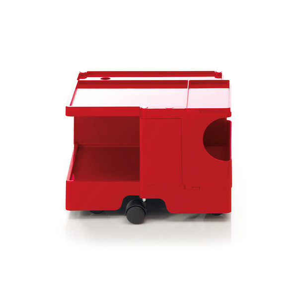 B-Line Boby Mod.XS H31.5cm 巴比 多層式系統 收納推車 - 低尺寸 (開放式收納 無分層)紅色款