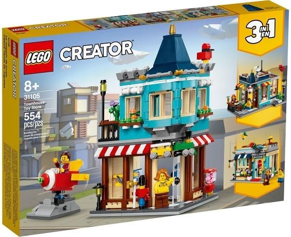 樂高LEGO CREATOR 排屋玩具店 31105 TOYeGO 玩具e哥