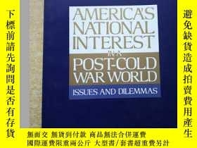 二手書博民逛書店America s罕見national interest in