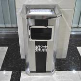 銀行酒店大堂電梯口物業辦公寫字樓過道不銹鋼帶煙灰缸滅煙垃圾桶QM『櫻花小屋』