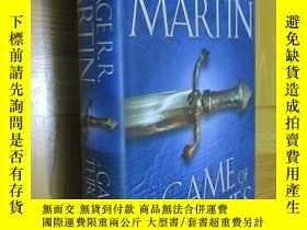 二手書博民逛書店A罕見Game of Thrones (A Song of Ice and Fire, Book 1) 小16開,
