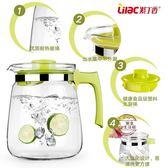 耐高溫玻璃涼水壺大容量扎壺開水茶壺冷水壺水具2.0L·樂享生活館