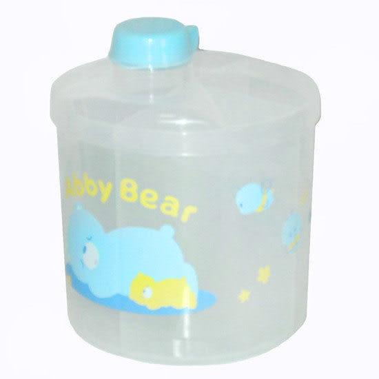 【奇買親子購物網】艾比熊四格奶粉盒