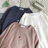 短袖T恤 - 短袖寬松個性百搭上衣情侶T恤打底衣服【韓衣舍】