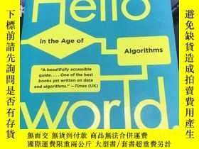 二手書博民逛書店Being罕見human in the age of algorithmY235849 Hannah fry