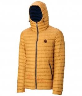 【速捷戶外】Wildland 荒野 0A32112-33 男700FP連帽輕時尚羽絨衣-駱黃