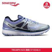 saucony 女 TRIUMPH ISO3 跑鞋SY10346-4【灰紫】/ 城市綠洲 (跑鞋、運動休閒鞋、EVERUN)