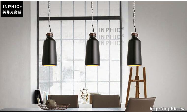 INPHIC- 北歐白色工業個性單頭小吊燈現代簡約吧台餐廳玄關臥室吊燈_S197C