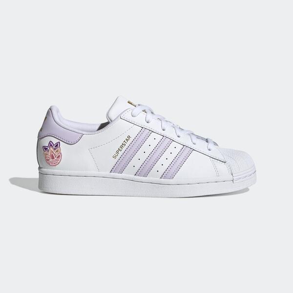 Adidas Superstar W [GZ8143] 女鞋 運動 休閒 經典 舒適 穿搭 愛迪達 白 紫
