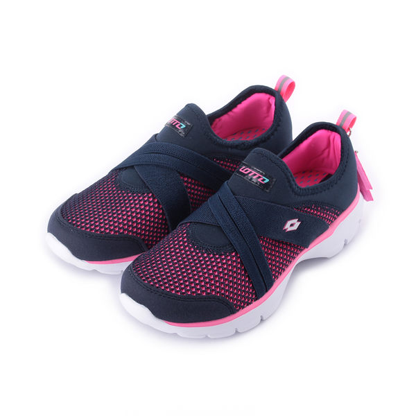 LOTTO EASYWEAR 樂活輕跑鞋 深藍 LT5886 女鞋 鞋全家福