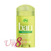 BAN 盼 清新體香膏 Powder Fresh  無香味 (自然綠)  73g【UR8D】