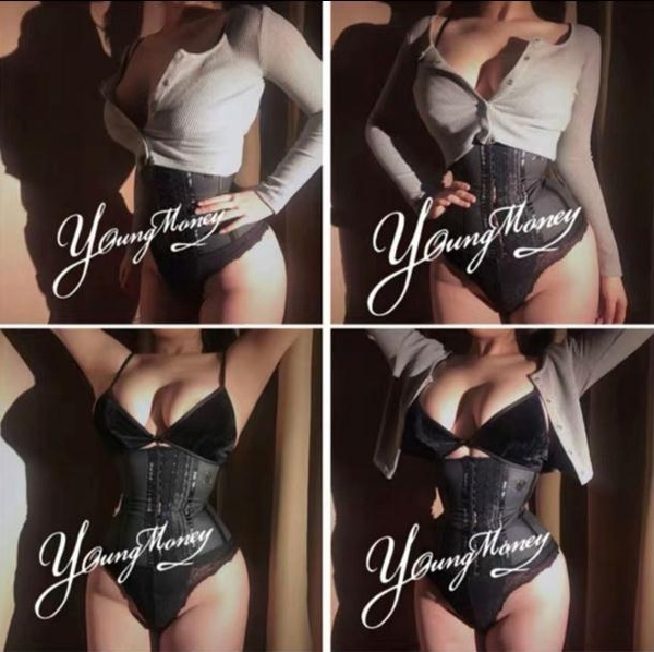 束腰YM束腰帶健身運動燃脂收腹帶產后塑身瘦身