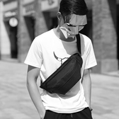死飛包斜挎包男士胸包女學生帆布小包包韓版潮牌男包單肩運動腰包 居享優品