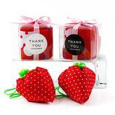 幸福婚禮小物❤水果草莓環保袋(盒裝)---1組10入❤迎賓禮/二次進場/活動小禮物/送客禮/扭蛋/環保袋