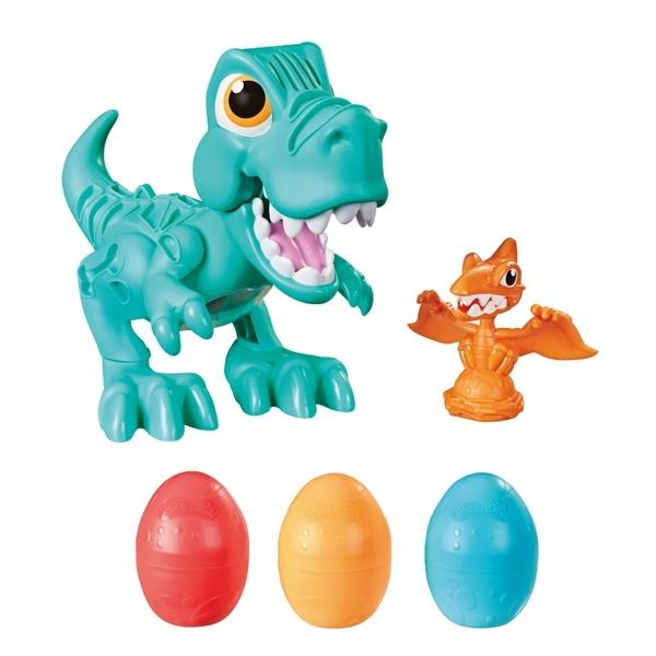 培樂多恐龍系列 暴龍好朋友