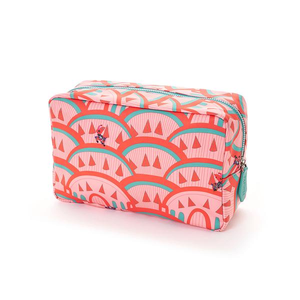 Papinee Deer Cosmetic Pouch Large, Travel Kit Series 紐約 小鹿 旅行系列 多功能 立式收納包 / 化妝包 大尺寸