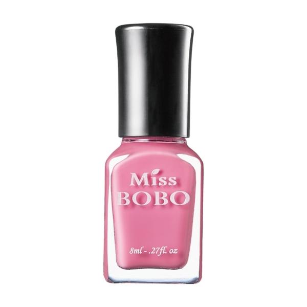 Miss BOBO水性可剝持色指彩 櫻花粉