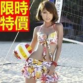 泳衣(兩件式)-比基尼音樂祭沙灘衝浪必備泳裝非凡爆乳3色56j54【時尚巴黎】
