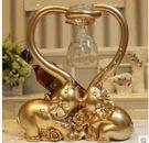 大象紅酒架工藝裝飾品擺件Dhh2747【潘小丫女鞋】