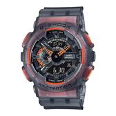 CASIO 卡西歐 手錶專賣店 GA-110LS-1A G-SHOCK 半透明螢光材質 雙顯 防水200米 GA-110LS