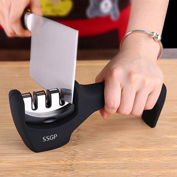 磨刀石德國快速磨刀器家用磨刀石定角多功能磨刀神器磨刀棒菜刀陶瓷