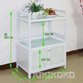 廚房鋁合金多功能簡易組裝經濟型櫥櫃LVV4285【KIKIKOKO】TW