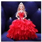 單個裝芭比娃娃3D真眼兒婚紗LVV1763【KIKIKOKO】
