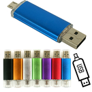 ☆容量16G!! 手機與電腦兩用隨身碟~含運☆HTC ONE MAX M8 M7 E9 M9 Butterfly2 Micro USB & USB OTG