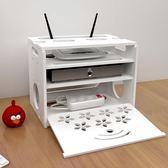 路由器收納盒電線收納盒wifi插座插排插線板收納盒整理線盒理線器 祕密盒子