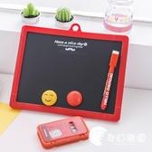 小學生雙面畫板學習寫字白板黑板卡通可擦磁性兒童繪畫板-奇幻樂園