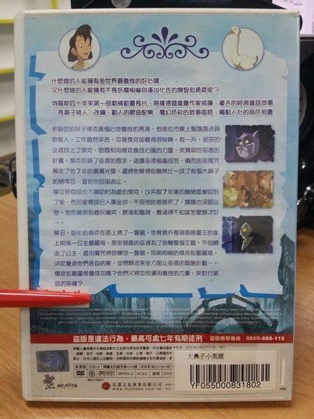 挖寶二手片-B06-003-正版DVD*動畫【大鼻子小英雄】-中/英文字幕-改編德國童話威廉豪夫作品
